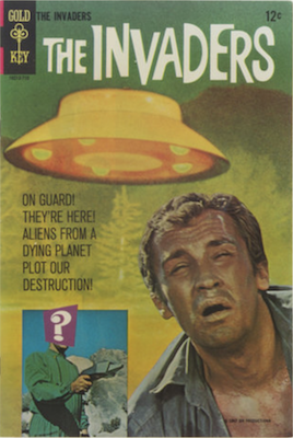 The Invaders #1 (1967), Gold Key comics. Click for values