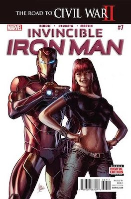 Invincible Iron Man v3 #7, 1st Riri Williams aka Ironheart. Click for values