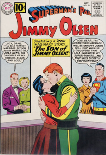 Superman's Pal Jimmy Olsen #56 by DC Comics. Monroe and Kennedy appear. Click for values