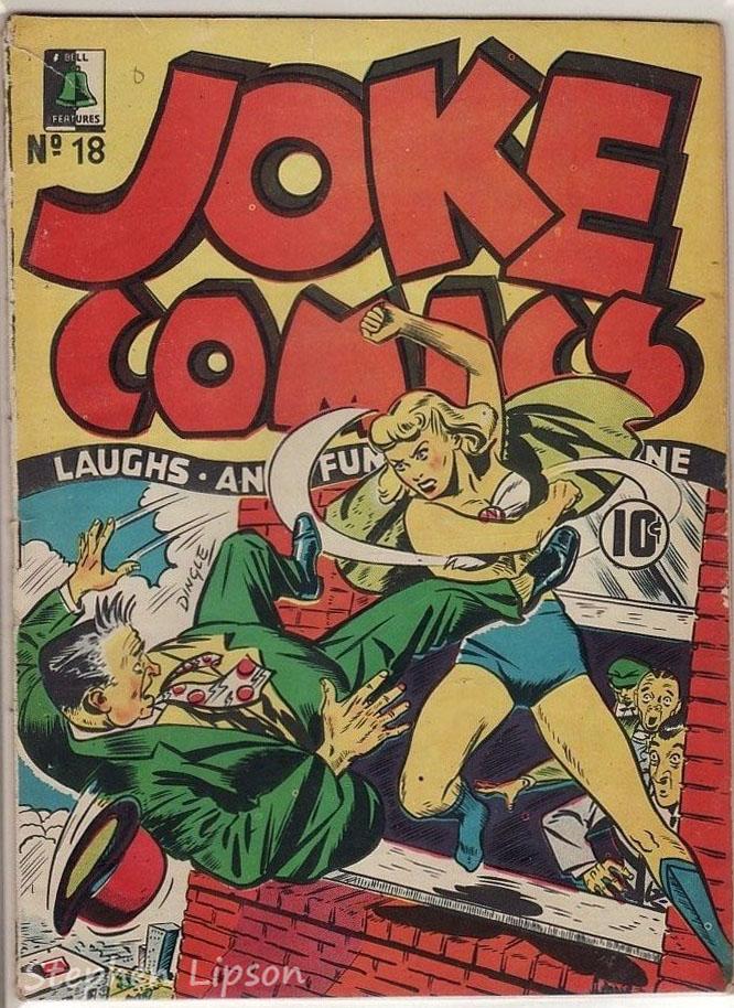 Bell Features Joke Comics #18