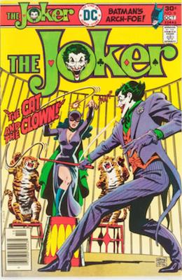 Joker #9 (1976): Catwoman Comics Cover. Click for values