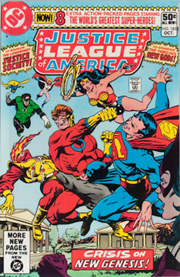 Justice League of America #183 (DC, 1980): Resurrection of Darkseid. Click for values