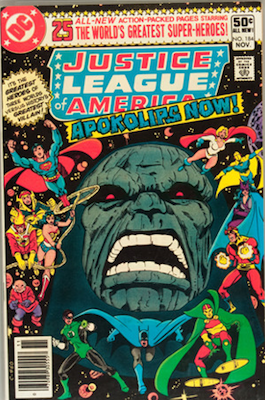 Justice League of America #184 (DC, 1980): Resurrection of Darkseid. Click for values