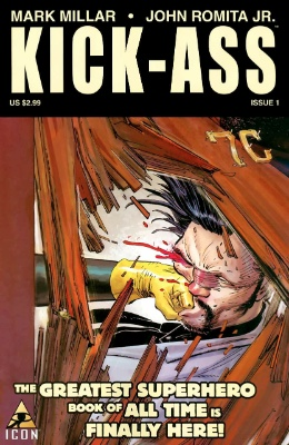 Origin and First Appearance, Kick-Ass, Kick-Ass #1, Icon Comics, 2008. Click for value