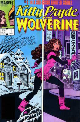 Kitty Pryde and Wolverine #1-6 (November 1984 – April 1985):