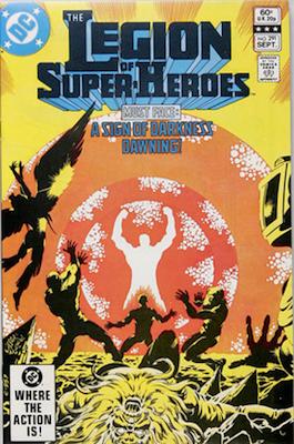 Legion of Super-Heroes #291: The Great Darkness Saga