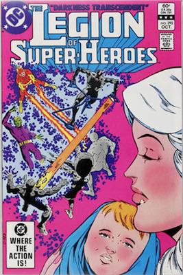 Legion of Super-Heroes #292: The Great Darkness Saga
