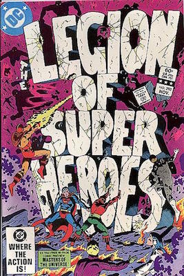 Legion of Super-Heroes #293: The Great Darkness Saga