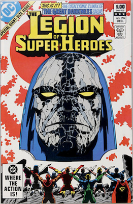 Legion of Super-Heroes #294: The Great Darkness Saga