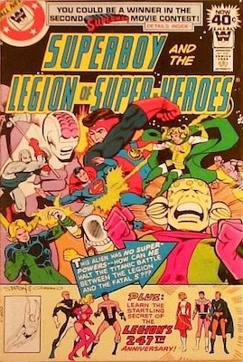Legion of Superheroes #247. Click for current values.