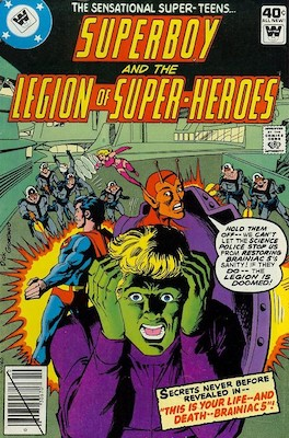Legion of Superheroes #256. Click for current values.