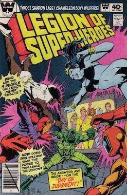 Legion of Superheroes #263. Click for current values.
