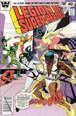 Legion of Superheroes #264. Click for current values.