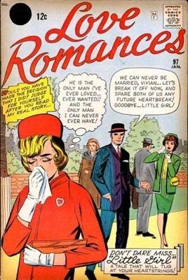 Love Romances #97: Rare Marvel (Timely) romance comic. Click for value