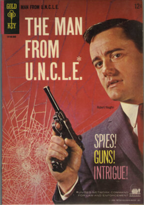 Man from U.N.C.L.E. #1 (1965), Gold Key. Click for values