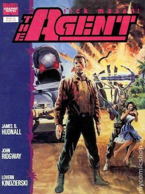 Rick Mason: The Agent (aka Marvel Graphic Novel #57). Click to buy