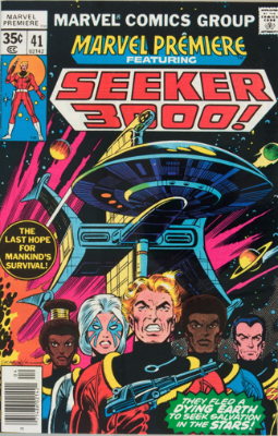 Marvel Premiere #41 (April, 1978): Seeker 3000. Click for values