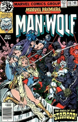 Marvel Premiere #46 (February, 1979): Man-Wolf. Click for value