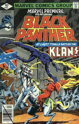 Marvel Premiere #52 (February, 1980): Black Panther. Click for value