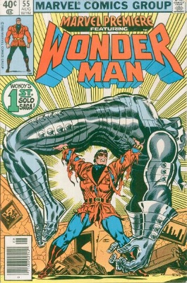 Marvel Premiere #55 (August, 1980): Wonder Man. Click for value