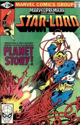 Marvel Premiere #61 (August, 1981): Star-Lord. Click for values