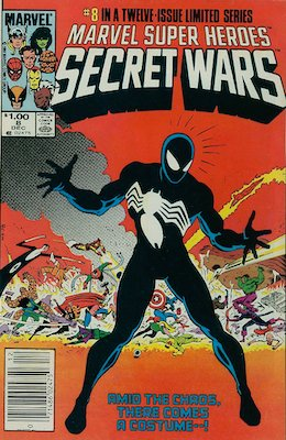 Most valuable comic books of the Copper Age: Marvel Super Heroes Secret Wars #8 (1984), Canadian Price Variant. Click for values