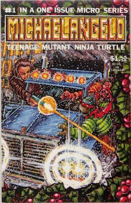 Michaelangelo, Teenage Mutant Ninja Turtle #1 (1986), Mirage Studios. Click for values