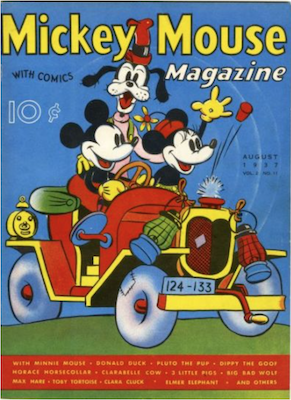 Mickey Mouse Magazine v2 #11. Click for values.