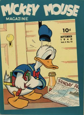 Mickey Mouse Magazine v5 #12: last issue, becomes Walt Disney's Comics and Stories in next issue. Click for values