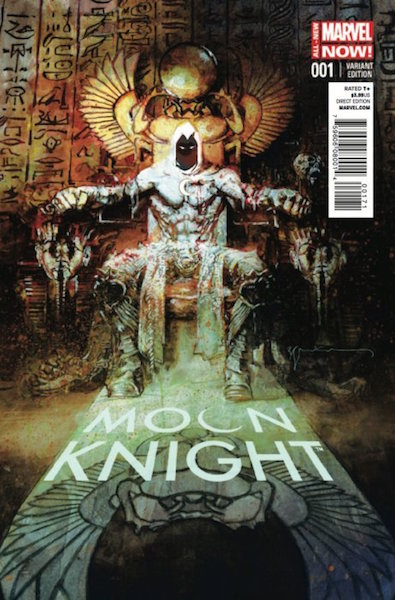 #94: Moon Knight 1 Sienkiewicz Variant (2014). Click for values