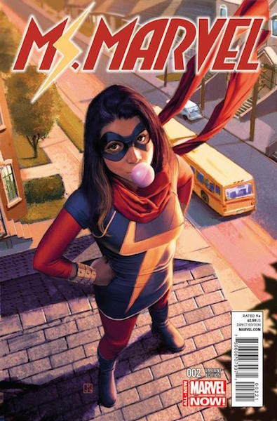 #23: Ms. Marvel 2 Molina Variant (2014). Click for values
