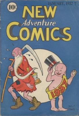 New Adventure Comics #12. Click for values.