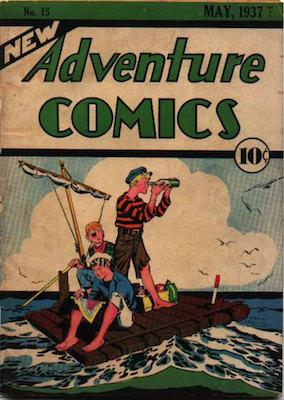 New Adventure Comics #15. Click for values.