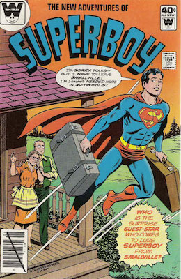 New Adventures of Superboy #6. Click for current values.