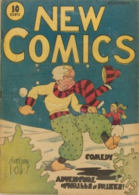 New Comics #1 (1935): First ever comic published by DC. Click for values