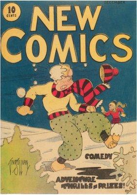 New Comics #1. Click for values.