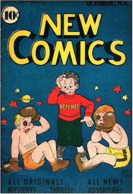 New Comics #9. Click for values.