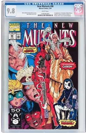 New Mutants #98 is common as dirt. There are well over TWO THOUSAND examples graded CGC 9.8. Think again! Park that cash in a true Marvel key issue.