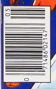 A newsstand variant is easy to spot. The UPC bar code at bottom left is the way to tell