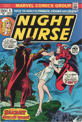 Night Nurse #4, Rare in High Grade. Click for values