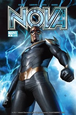 Nova v4 #8, 1st Luminals, Knowhere, Cosmo the Space Dog. Click for values