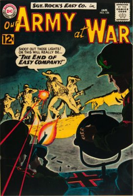 Our Army at War #126: First Appearance of Canary. Click for values