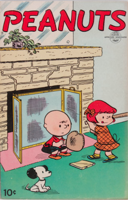 Peanuts #1 (United Features Syndicate, 1953). Click for values.