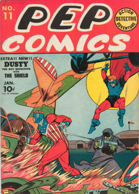 Pep Comics #11. Click for current values.