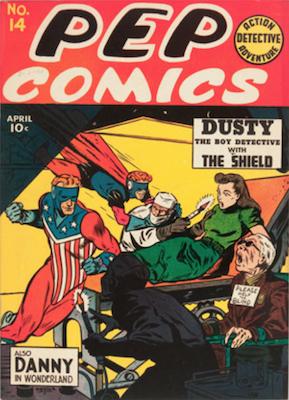 Pep Comics #14. Click for current values.