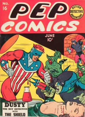 Pep Comics #16. Click for current values.