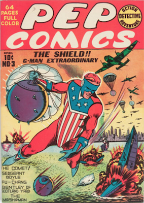 Pep Comics #3. Click for current values.