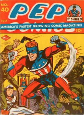 Pep Comics #40. Click for current values.