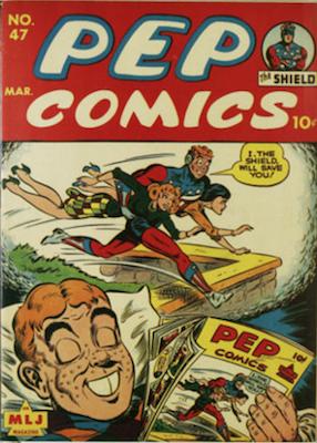 Pep Comics #47. Click for current values.