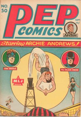 Pep Comics #50. Click for current values.